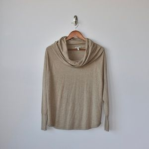 Joie Tan Cowl Next Sweater. Women's Size XS